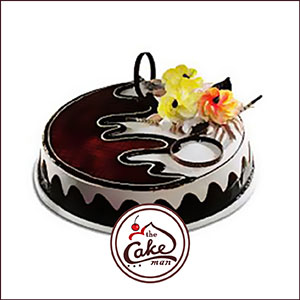 Black Forest Flower Cake The Cake Man